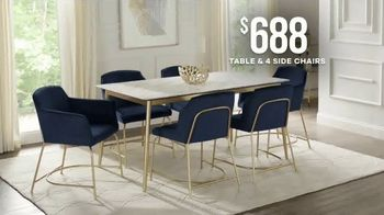 Rooms to Go Memorial Day Sale TV Spot, 'Modern Dining Set' - Thumbnail 7