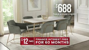 Rooms to Go Memorial Day Sale TV Spot, 'Modern Dining Set' - Thumbnail 8