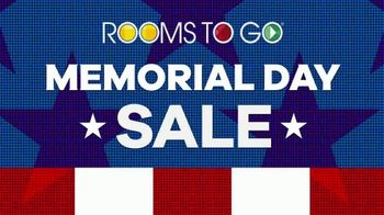 Rooms to Go Memorial Day Sale TV Spot, 'Cindy Crawford Home Three-Piece Sectional: $2,195' - Thumbnail 2