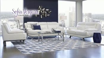 Rooms to Go Memorial Day Sale TV Spot, 'Sofia Vergara Collection Leather Sofa & Loveseat' - Thumbnail 5