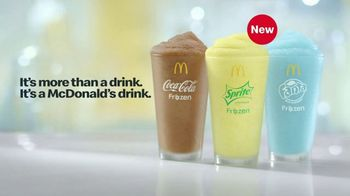 McDonald's TV Spot, 'Treat Yourself: Frozen Drinks and Soft Drinks' - Thumbnail 6