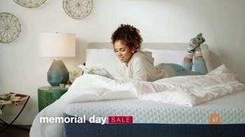 Ashley HomeStore Memorial Day Sale TV Spot, '0% Interest on Tempur-Pedic' - Thumbnail 2