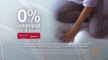 Ashley HomeStore Memorial Day Sale TV Spot, '0% Interest on Tempur-Pedic' - Thumbnail 4