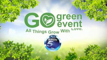Subaru Go Green Event TV Spot, 'Grow With Love: Forester' [T2] - Thumbnail 5
