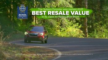 Subaru Go Green Event TV Spot, 'Grow With Love: Forester' [T2] - Thumbnail 6