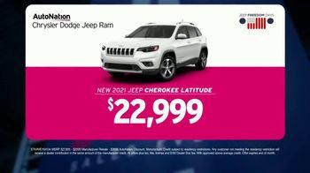 AutoNation Ford Fast Start Sales Event TV Spot, '2021 Cherokee Latitude' Featuring Alexander Rossi - Thumbnail 4
