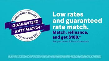 SoFi TV Spot, '2021 Student Loan Refinancing: Rate Match Guarantee' Song by Nappy Roots - Thumbnail 5