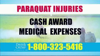 Davis & Crump, P.C. TV Spot, 'Paraquat Injuries' - Thumbnail 6