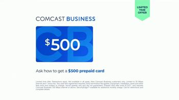 Comcast Business TV Spot, 'Ready For the Day: $500 Card' - Thumbnail 9