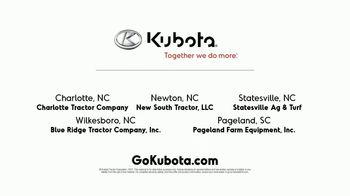 Kubota TV Spot, 'Your Property: Save Up to $1,200' - Thumbnail 7