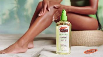 Palmer's Hemp Oil Calming Relief TV Spot, 'Soothed'