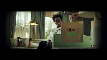 Uber Eats TV Spot, 'March Madness Super Fan' Featuring Leslie Jones
