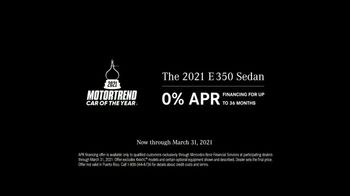 2021 Mercedes-Benz E-Class TV Spot, 'New Attitude' Song by The Struts [T2] - Thumbnail 9