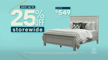 Ashley HomeStore Anniversary Sale TV Spot, 'This Weekend: 25% Off' - Thumbnail 3