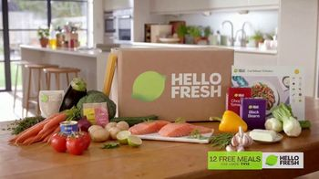 HelloFresh TV Spot, 'Better Dinner Routine: 12 Free Meals'