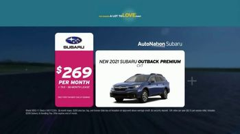 AutoNation Subaru A Lot to Love Event TV Spot, 'It's Go Time: 2021 Outback and Forester'