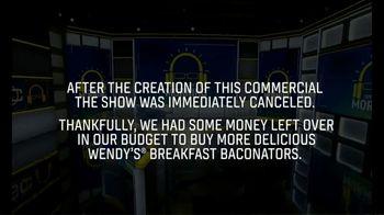 Wendy's Breakfast Baconator TV Spot, 'ESPN: Morning Show' - Thumbnail 9