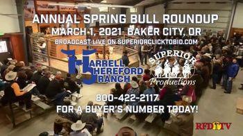 Harrell Hereford Ranch TV Spot, '2021 Annual Spring Bull Roundup' - Thumbnail 8