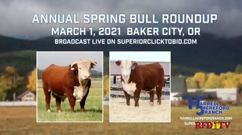 Harrell Hereford Ranch TV Spot, '2021 Annual Spring Bull Roundup' - Thumbnail 3