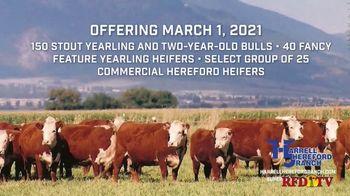Harrell Hereford Ranch TV Spot, '2021 Annual Spring Bull Roundup' - Thumbnail 5