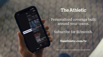 The Athletic Media Company TV Spot, 'Exclusive Access: $1 a Month' - Thumbnail 10