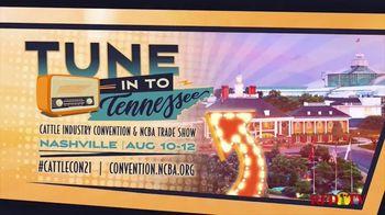 National Cattlemen's Beef Association CattleCon TV Spot, '2021 Nashville: August Dates'