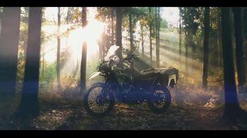 2022 Kawasaki KLR650 TV Spot, 'Escape. Explore. Envy.' - Thumbnail 9