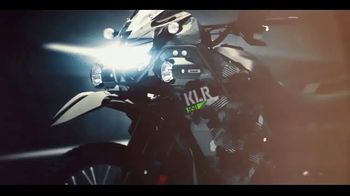 2022 Kawasaki KLR650 TV Spot, 'Escape. Explore. Envy.' - Thumbnail 1