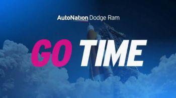 AutoNation Dodge Ram Truck Month TV Spot, 'Go Time: 0% APR for 72 Months'