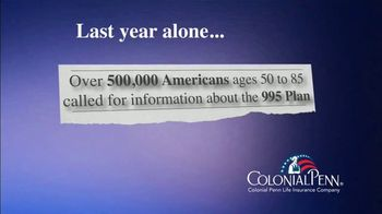 Colonial Penn 995 Plan TV Spot, 'Change and Uncertainty' Featuring Meredith Vieira - Thumbnail 1