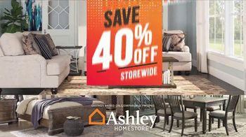 Ashley HomeStore Super Sale TV Spot, 'Save 40%, Delivery and Financing' - Thumbnail 2