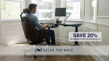 Relax the Back TV Spot, 'Office Products: 20% Off'