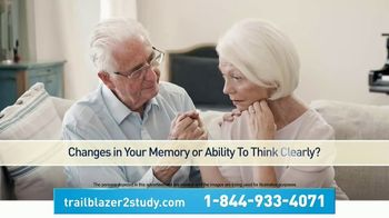 Eli Lilly TV Spot, 'Early Symptomatic Alzheimer's Disease Clinical Research Study'