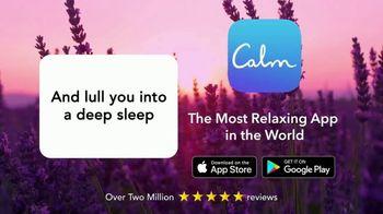 Calm TV Spot, 'Three Reasons You Can't Sleep' - Thumbnail 6