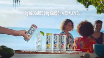 Corona Hard Seltzer TV Spot, 'Hola Beach Hunt' canción de Pete Rodriguez  [Spanish] - Thumbnail 8