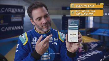 Carvana TV Spot, 'Breathe Easy' Featuring Jimmie Johnson