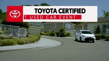 Toyota Certified Best Used Car Event TV Spot, 'The Best of the Best' [T2] - Thumbnail 10
