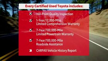 Toyota Certified Best Used Car Event TV Spot, 'The Best of the Best' [T2] - Thumbnail 3