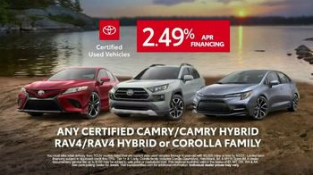 Toyota Certified Best Used Car Event TV Spot, 'The Best of the Best' [T2] - Thumbnail 9