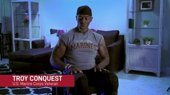 Paralyzed Veterans of America TV Spot, 'Troy Conquest: We Keep Getting Up' - Thumbnail 2