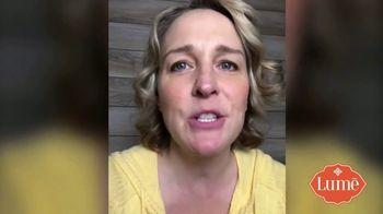 Lume TV Spot, 'Stops Odor Before It Starts' - Thumbnail 4