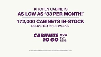 Cabinets To Go TV Spot, 'Up to 40% Off All Cabinets' - Thumbnail 10