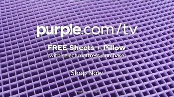 Purple Mattress TV Spot, 'Angry Memory Foam: Free Sheets and Pillow' - Thumbnail 10