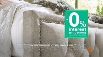 Ashley HomeStore Best of the Best Sale TV Spot, 'Best Prices or 0% Interest' - Thumbnail 6