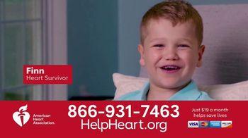 American Heart Association TV Spot, 'Research Helped Save Finn's Life'
