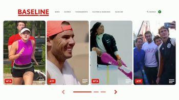 TENNIS.com TV Spot, 'Baseline' - Thumbnail 7