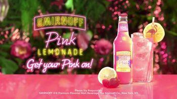 Smirnoff Pink Lemonade Ice TV Spot, 'Flavor Vacation' Song by Missy Elliott - Thumbnail 8