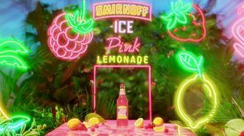 Smirnoff Pink Lemonade Ice TV Spot, 'Flavor Vacation' Song by Missy Elliott - Thumbnail 2