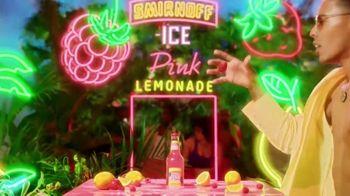 Smirnoff Pink Lemonade Ice TV Spot, 'Flavor Vacation' Song by Missy Elliott - Thumbnail 7