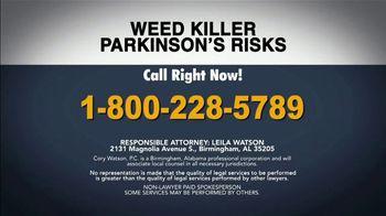 Cory Watson Law TV Spot, 'Parkinson's Disease' - Thumbnail 6